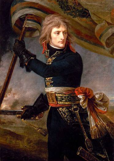 Bonaparte at the Pont dArcole by Antoine-Jean Gros