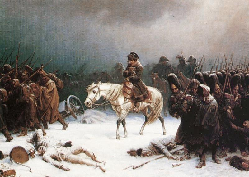 Napoleon's Retreat from Russia by Adolph Northen