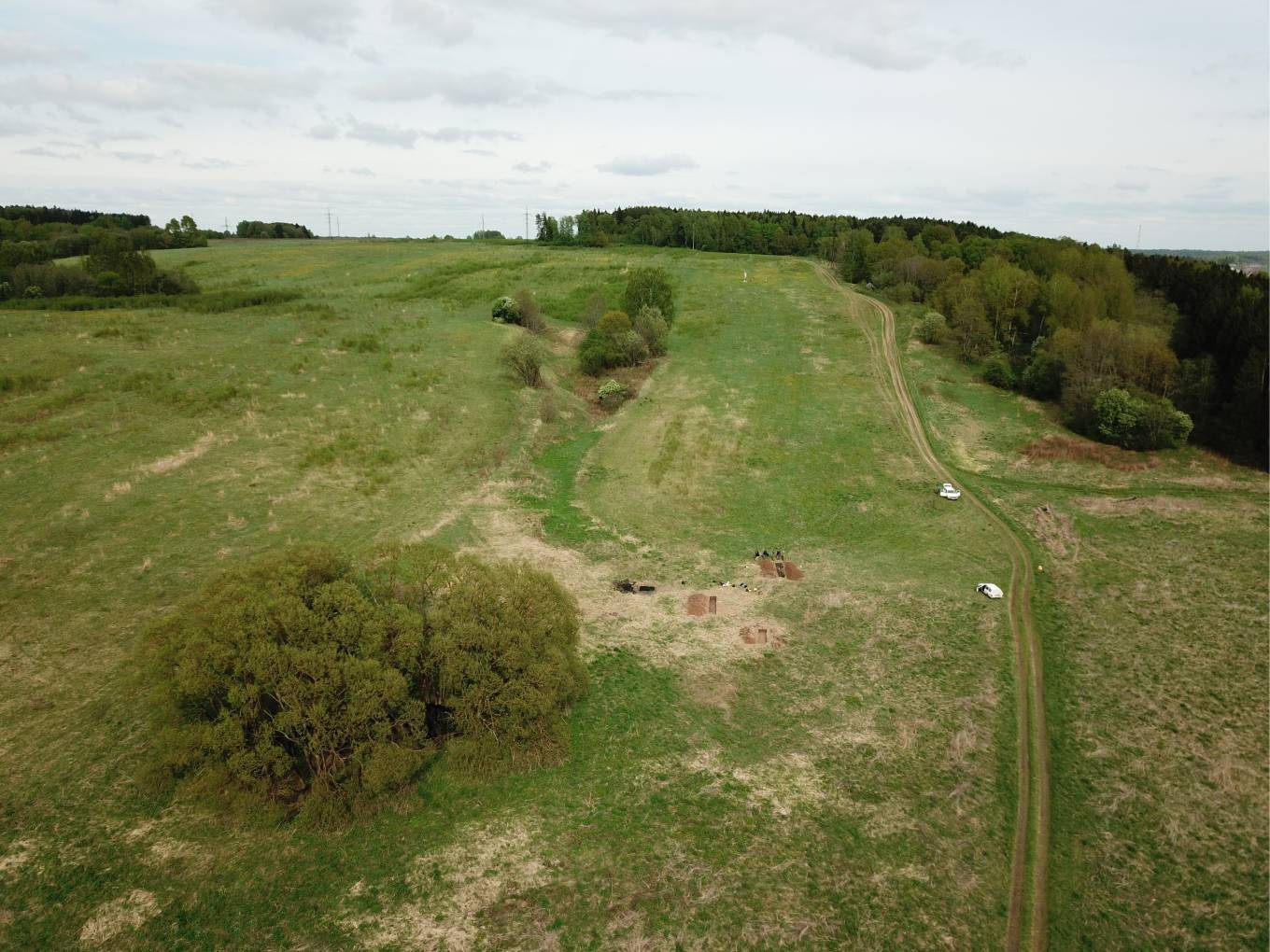 Investigation of Valutina Gora Battlefield